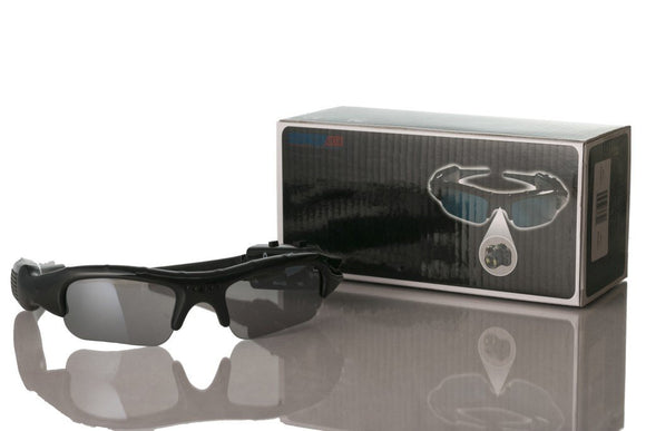 Plug & Play Color Digital Recording Sunglasses w/ Micro SD Slot