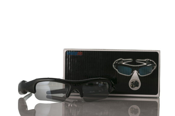 Spycam Digital Video Camcorder Sunglasses for Journalists & Reporters