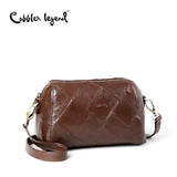 Cobbler Legend 2017 New Fashion Genuine Leather Women's Shoulder Bag For Girls Crossbody Bags For Female Handbag 0900303-A-1