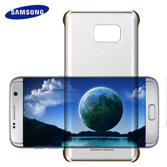 100% Original Samsung Galaxy S 6 7 Edge A 8 9 5 7 (2016) Note 5 Clear Case Cover Ultra Slim Back Protective Case For Samsung S7