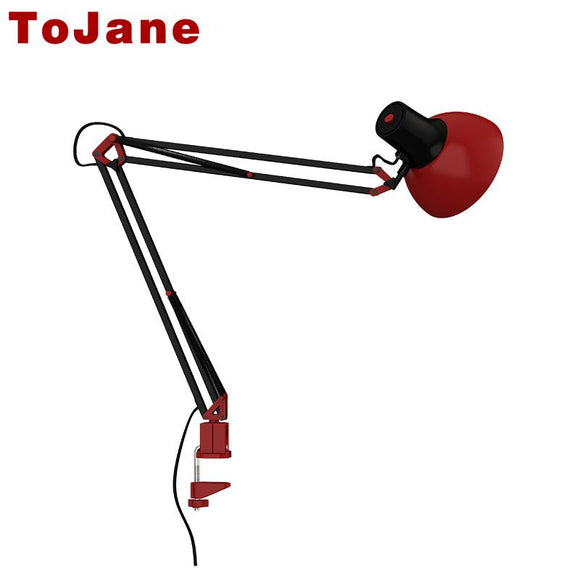 ToJane Desk Lamp Flexible Led Desk Lamp Home Office Led Table Lamp Metal Architect Adjustable Folding Reading Light TG600