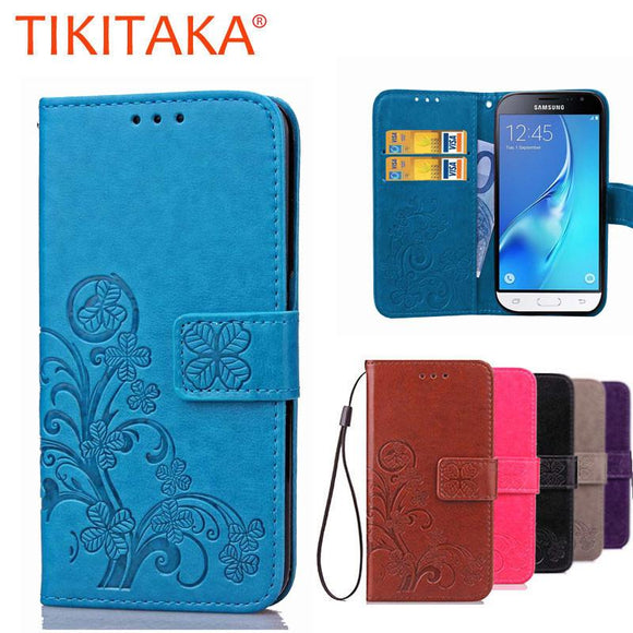 For Samsung Galaxy J3 Case Cover Luxury Wallet Leather Flip Case For Samsung Galaxy J3 2016 Case J3 6 J320 J320F Phone Bag