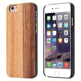 KISSCASE For APPLE iphone 5 6 6s 6 Plus 7 7 Plus Wooden Case Genuine Real Natural Wood Back Cover For iPhone 5S 8 8 Plus X Case