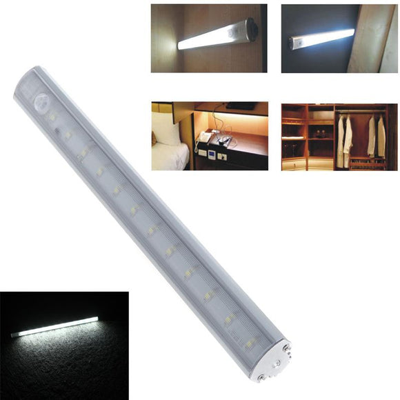 LED Cabinet Closet Light PIR Motion Sensor Lamp Led Blubs white bright for Kitchen Wardrobe Cupboard 30cm