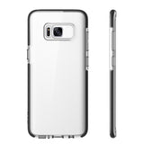 Rock Guard Series Phone Case For Samsung Galaxy S8 S8 plus Anti-Knock Back Cover Protector With Edge Dual Layer TPU TPE