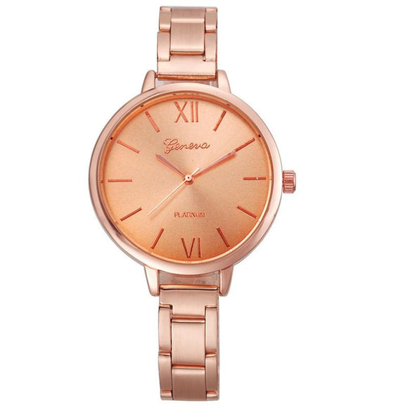 Fankris 2016 Fashion Luxury Women Wstches Small Stainless Steel Band Clock Hour Quartz WristWatch Watches Relogio Feminino Watch