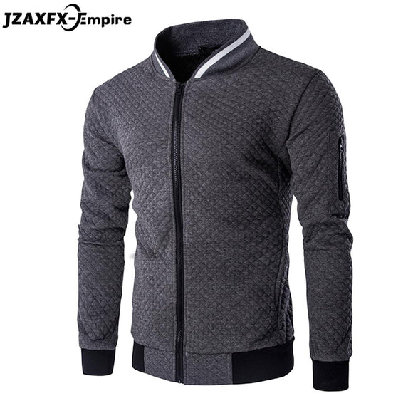 Men's Hoodies Zipper Design Mens Jacket Coat O Neck High Quality Mens Autumn Sweatshirt Brand-Clothing Hoodies men 2017 New
