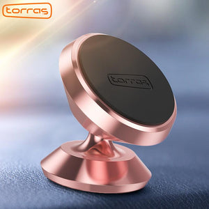 TORRAS Universal Car Phone Holder 360 Degree Portable GPS Magnetic Mobile Phone Holder for iPhone Magnet Mount Holder Stand