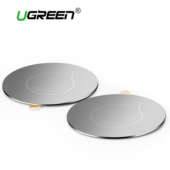 Ugreen Universal Magnetic Disk For Car Phone Holder Matal Plate Iron Sheets for Magnet Air Vent Mount Holder Car Holder Stand
