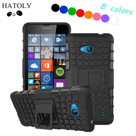 HATOLY For Cover Nokia Lumia 640 Case Hard Silicone Rubber Phone Case for Nokia Lumia 640 Case For Microsoft Lumia 640 N640 *