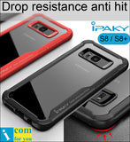 iPaky Super Drop resistance Armor anti hit Cover Case For Samsung Galaxy S8 Plus Shock-proof