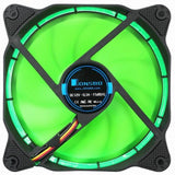 1 piece Jonsbo Solar Eclipse 120mm Computer Case Cooler CPU Fan PC Cooling Fan Radiator LED Light 3 Pin D-Type for Intel AMD MOD