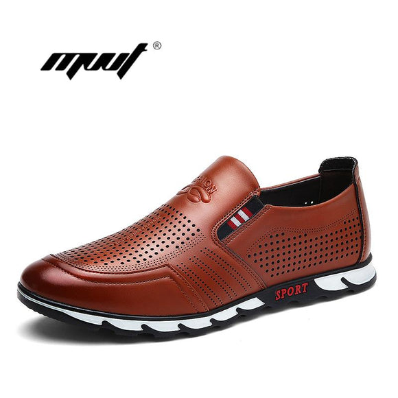 Brand Summer Men Shoes England Trend men Casual Shoes PU Leather Shoes Breathable For Male Footear Loafers Men's Flats