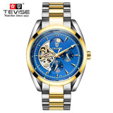 Tevise Men's Watches Luminous Tourbillon Clock Waterproof Sports Military Mechanical Watch relogio masculino relojes