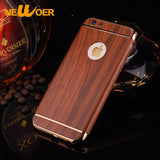 Wood Pattern Case Cover For iPhone 7 S 7G 7S Traditional Sculpture PC Wood Hard Back Phone Case Newoer