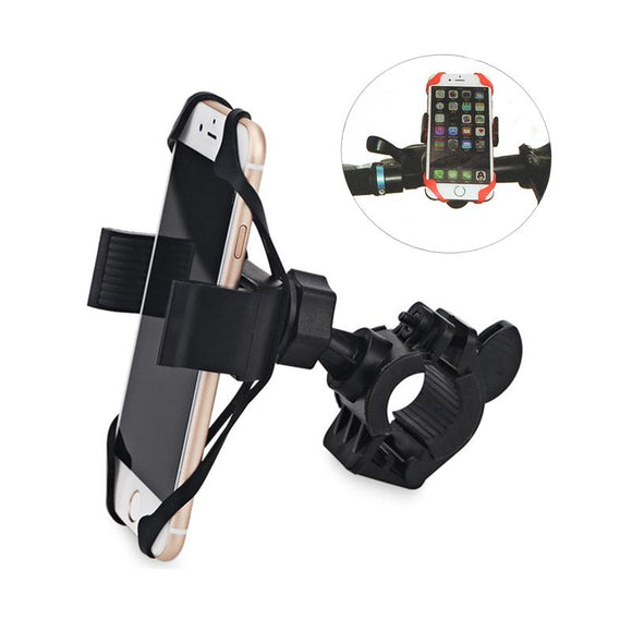 360 Rotating Anti-Slip Universal Bicycle Bike Phone Holder Handlebar Clip Stand Mount Bracket For iPhone 7 plus samsung Xiaomi