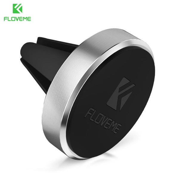 FLOVEME Magnetic Car Phone Holder Stand For iPhone 7 6 6S 5S SE 5 Samsung Xiaomi Air Vent Mount GPS Mobile Phone Holder in Car