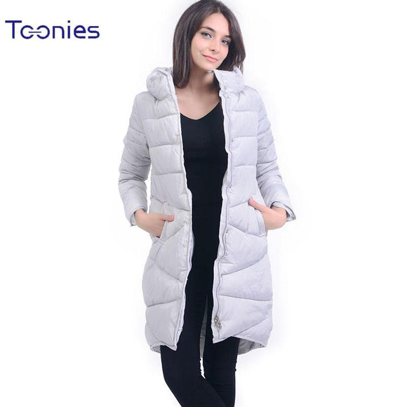 2017 New Fashion Winter Jacket Women Stand Collar Thick Parka Coats Female Warm Manteau Femme 4 Colors Ladies Long Warm Outwear