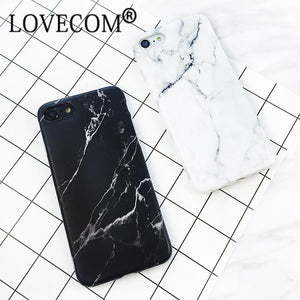 LOVECOM Granite Stone Marble Texture Pattern Case For iphone 6 6S Plus Thin Soft IMD Phone Cases