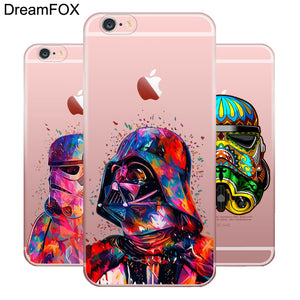 L090 Star Wars Soft TPU Silicone Case Cover For Apple iPhone X 8 7 6 6S Plus 5 5S SE 5C 4 4S
