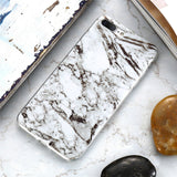 FLOVEME Marble Phone Case For iPhone X 8 7 Plus iPhone 5S SE 5 Cases Silicone Back Cover For iPhone 6S 6 X iPhone8 Fundas