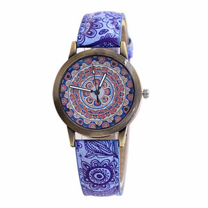 Chinese Style Women's Simple Watches & Hot Design PU Leather Watches Women Fashion Watch 2017 Discount Reloj
