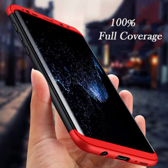 For Samsung Galaxy S8 Plus Luxury Protection Mobile Phone Case Capa Cover Coque + Ultra Thin Protective SamsungS8 S8plus Case