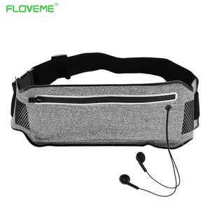 FLOVEME 6.0'' Universal T-Shape Waist Pocket For iPhone X 8 7 Running Phone Bag Cover Case For iPhone 7 8 Plus Fundas Case