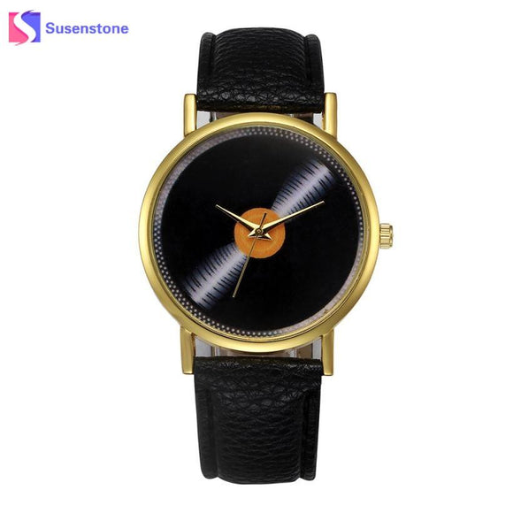 2017 New Arrival Women Leather Band Quartz Analog Wrist Watch Ladies Clock Female Casual Sport Watches relogio feminino