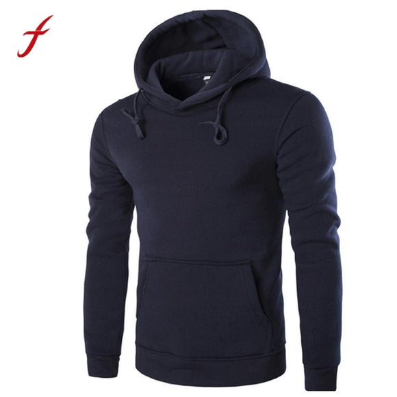 1PCS New Fashion Men Retro Long Sleeve Hoodie Hooded Sweatshirt Tops Jacket Coat Outwear Plus Size High Quality Male Cloth Hot