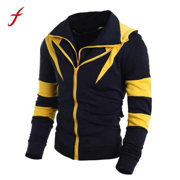 2017 Hot sale Mature man hoodies MUQGE vestitiy Men Retro Long Sleeve Hoodie Hooded Sweatshirt Tops Jacket Coat Outwear Shirts