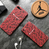 Fashionable Matte hard plastic cover case for iphone 6 S 6S plus 7 7plus 8 8plus X Japan tide brand champion Camouflage cases