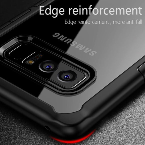 Rugged Ultra Slim Shockproof PC+TPU Bumper Case Cover for Samsung Note 8