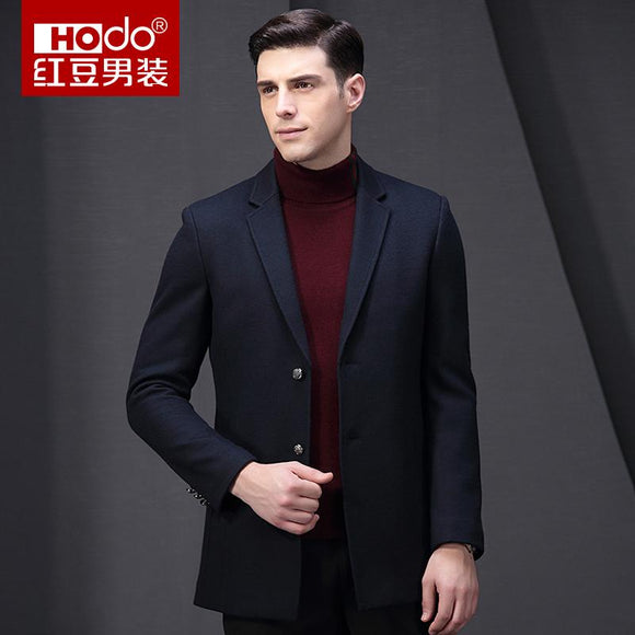 Hodo Men Suits Mens Long Winter Coat Suit Jacket Men Chaquetas Blazer Masculino Mens Blazer