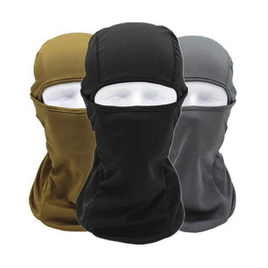 Breathable Speed Dry Outdoor Sports Riding Ski Mask Tactical Head Cover Motorcycle Cycling UV Protect Full face Mask