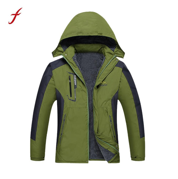 2017 Men winter jacket Waterproof Windproof Out Men' S Thin Jackets Sportswear Warm Winter Jacket Coat Plus Size