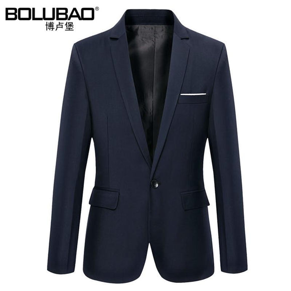 New Arrival Brand Clothing Autumn Suit Blazer Men Fashion Slim Male Suits Casual Solid Color Masculine Blazer Size M-3XL