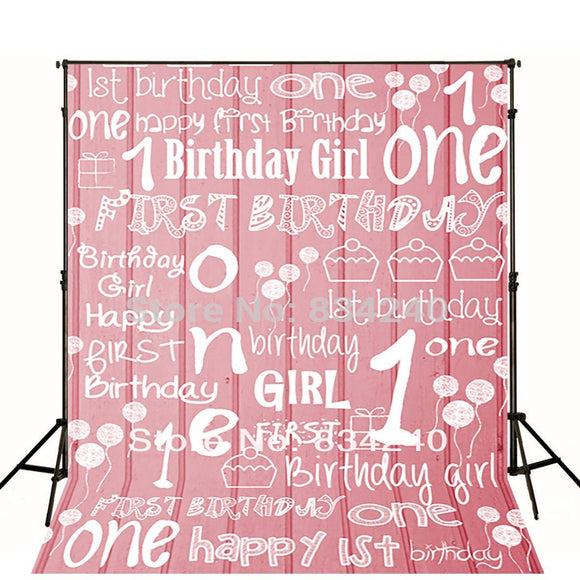 LIFE MAGIC BOX Photography Backdrops Photo Background Studio 1st Birthday Baby Birthday Party Backdrop Kids Backdrops