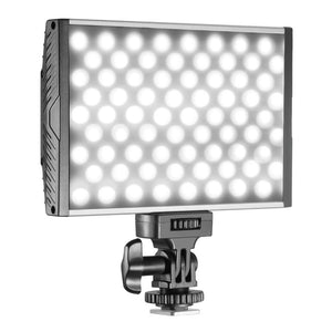 Neewer 144 LED PT-15B PRO Dimmable Video Light Panel with Hot Shoe Bi-color Temperature 3200K-5600K For Canon Nikon Sony Pentax