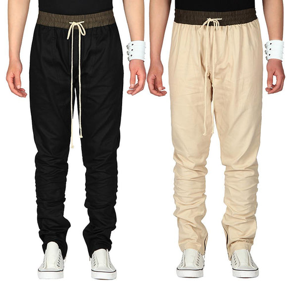 KLV 2017 New Fashion Mens Trousers Sweatpants Harem Pants Slacks Casual Jogger Dance Sportwear Baggy#20