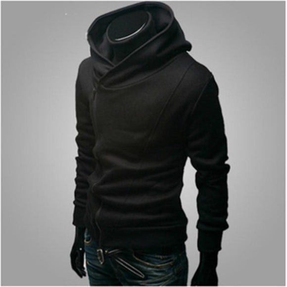 Assassins creed hoodies men hooded sweatshirt brand hip hop New black zipper hoodies streetwear survetement homme 2017 Fashion