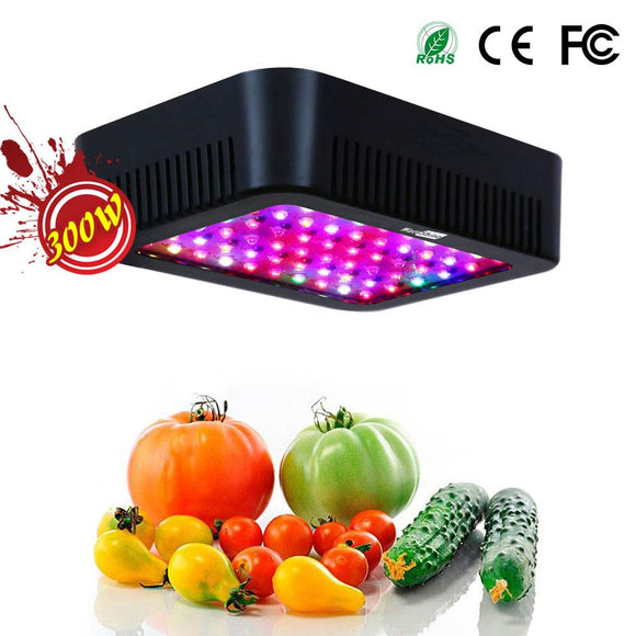300W led Cultivate lights 16 bands Full spectrum Not rust 5W Epistar Growth chips using Grow tent Greenhouse Indoor planting