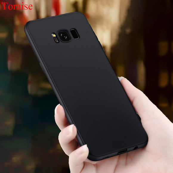 Toraise For Samsung Galaxy S8 Case Luxury Ultra thin Frosted Soft Silicone Tpu Case for Samsung S8 Plus S8 S 8 phone cover Case