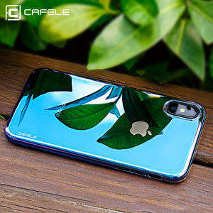Cafele Phone Case for Apple iPhone X Case Cover Photochromism Plastic Hard Cover for iPhone 10 Colorful Protective Shell