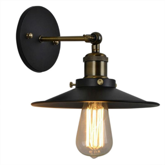 Vintage Wall Lamp Loft Light American Country Retro Industrial Iron Wall Light For Home Bathroom E27 Luminaria Lamparas Scon
