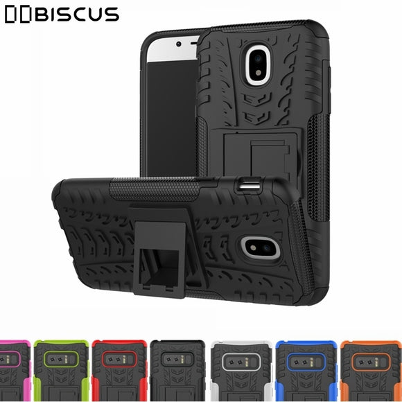 Heavy Duty Hard Armor Hybrid Rugged Cover For Samsung Galaxy A3 A5 A7 2017 J3 J5 J7 J2 Prime 2016 A8 J1 C9 S8 Plus Note 8 5 Case