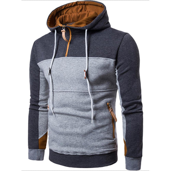 Feitong Promotion Time-limited Full Brand Sweatshirt Men Hoodies Splice Hoodie 2017 Mens Men's Tracksuits Moleton