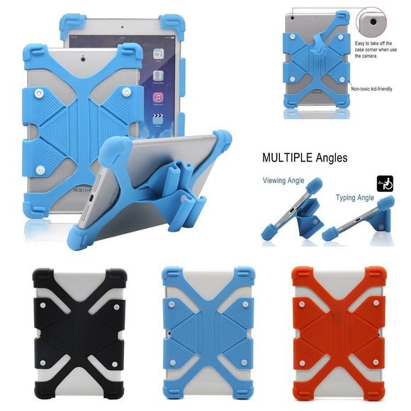 YUMQUA Universal Cover Case For Samsung Huawei Xiaomi Asus Irbis Tablet,9-12 Inch Tablet PC Silicone Case For iPad5 Air 1/2 mini