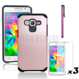 Hybrid Protective Armor Case Hard Cover+Film For Samsung Galaxy Grand Prime G530 G530H G530FZ G5308W G5308 G530M S920C