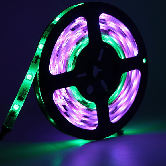 WS2811 led strip 5m 150 Pixels ws2811 ic DC 12V led strip Addressable Digital 5050 RGB color change waterproof LED tape lamp